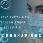 Como te puede ayudar Amazon Alexa a combatir el coronavirus - enfermera